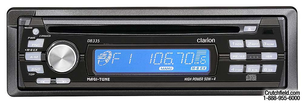 clarion db335 user manual