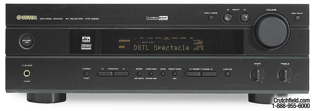 yamaha htr 5550 a v receiver with dolby digital dts and dolby pro rh crutchfield com Yamaha 5550 Receiver yamaha htr 5550 manual pdf