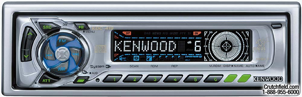 x113KDC419 f kenwood kdc 419 cd receiver with cd changer controls at kenwood kdc 419 wiring diagram at honlapkeszites.co
