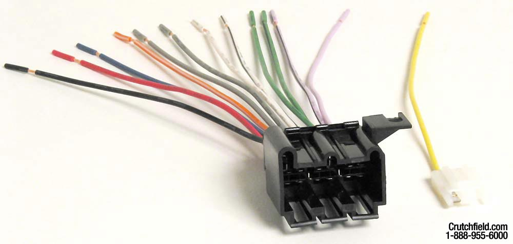 x120701677 f wiring harnesses at crutchfield com Car Stereo Wiring Colors at alyssarenee.co