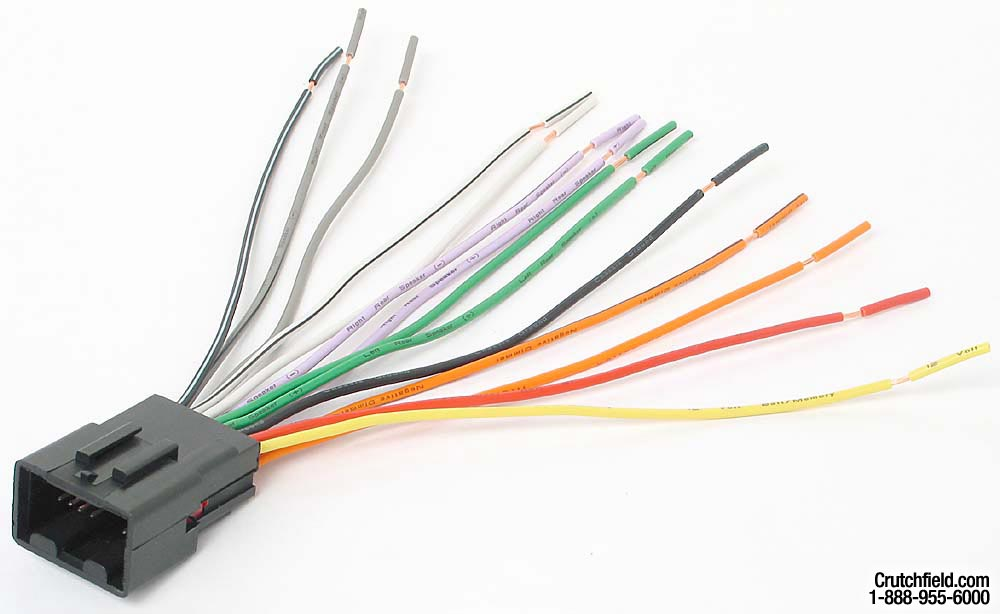 x120701771 f metra 70 1771 receiver wiring harness connect a new car stereo in wiring harness for radio at aneh.co