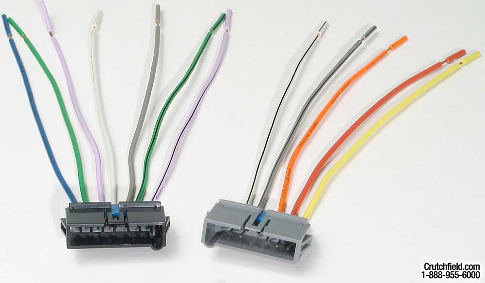 x120701817 f metra 70 1817 receiver wiring harness connect a new car stereo in Car Stereo Wiring Colors at n-0.co