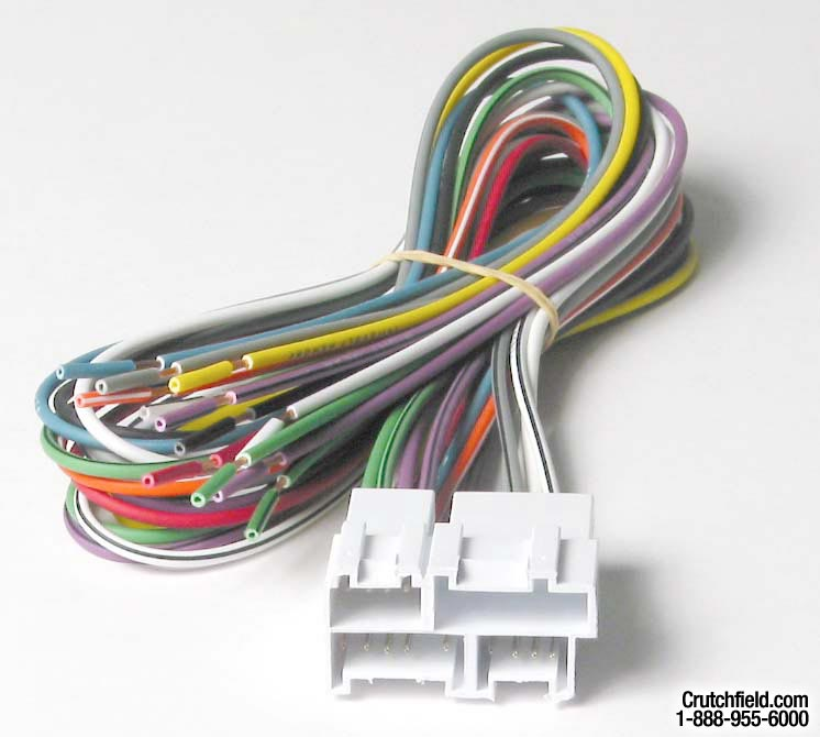 metra 70 1858l receiver wiring harness connect a new car stereo in select 1988 94 buick and