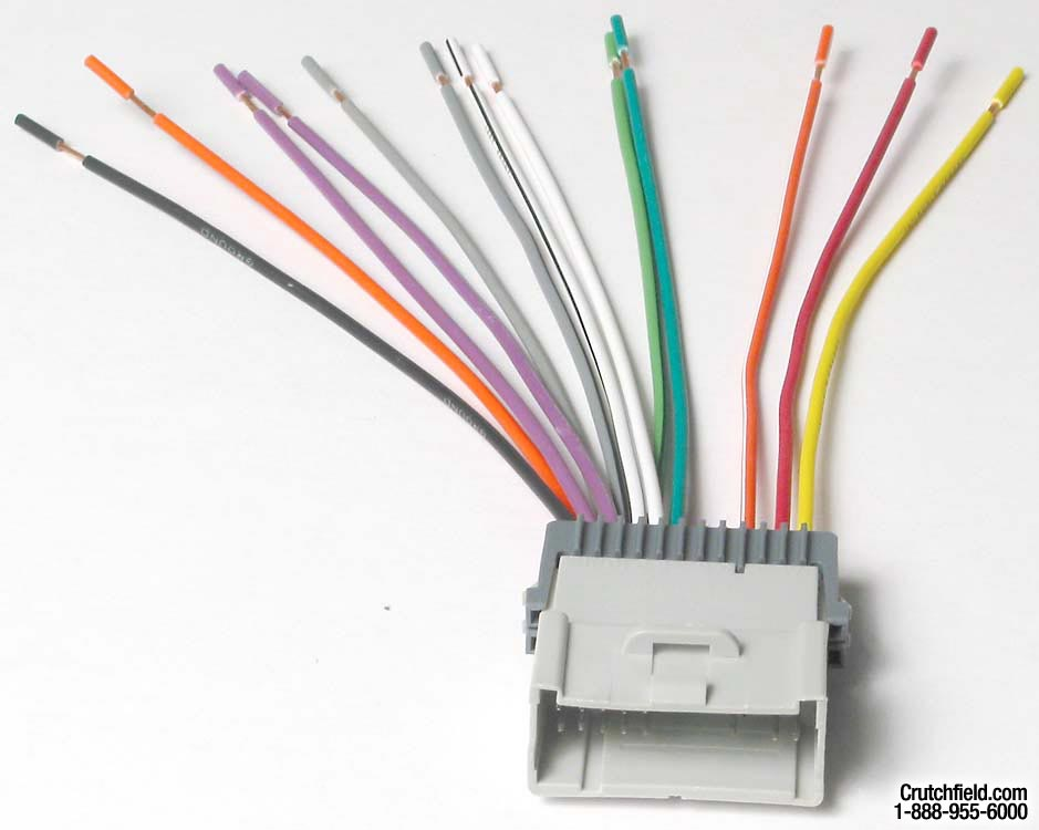 x120702003 f metra 70 2003 receiver wiring harness connect a new car stereo in GM Wiring Color Codes at bakdesigns.co