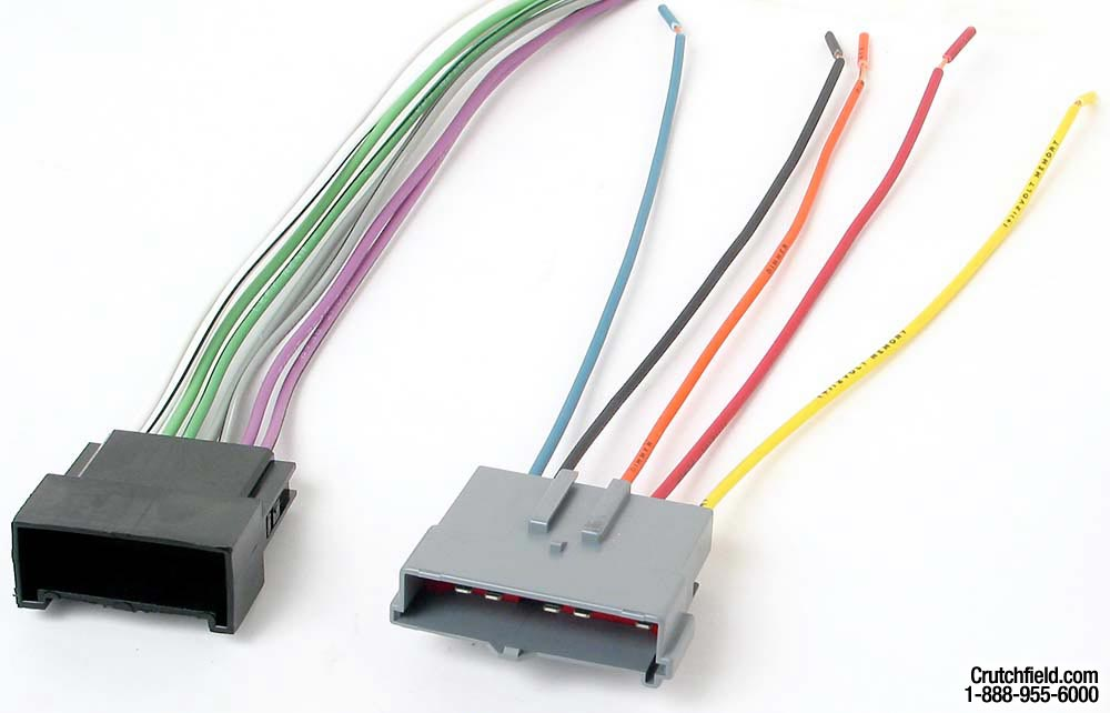 x120705008 f metra 70 5008 receiver wiring harness connect a new car stereo in Ford Wiring Harness Kits at sewacar.co