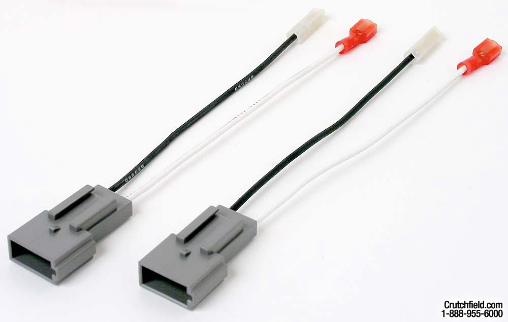 x12071023 f speaker wiring harnesses for select 1986 up ford, lincoln, mazda Wire Harness Assembly at bayanpartner.co