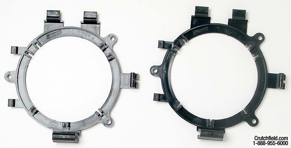 """1//2/"""" Vehicle Speaker Spacers Metra 82-4400 - Black NEW 2-Pack"""