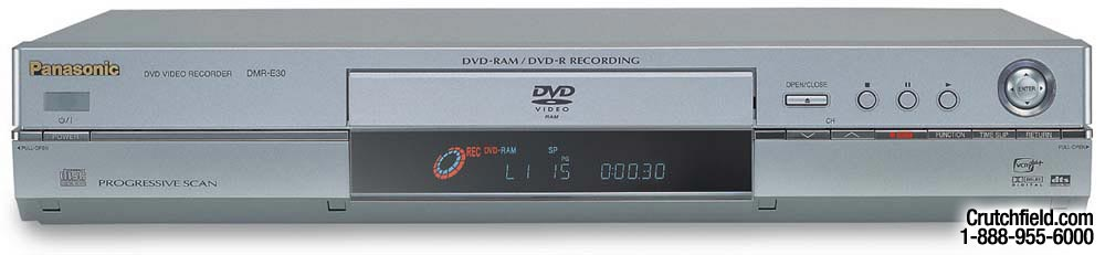 Panasonic DMR-E30PP DVD Recorder Windows 8