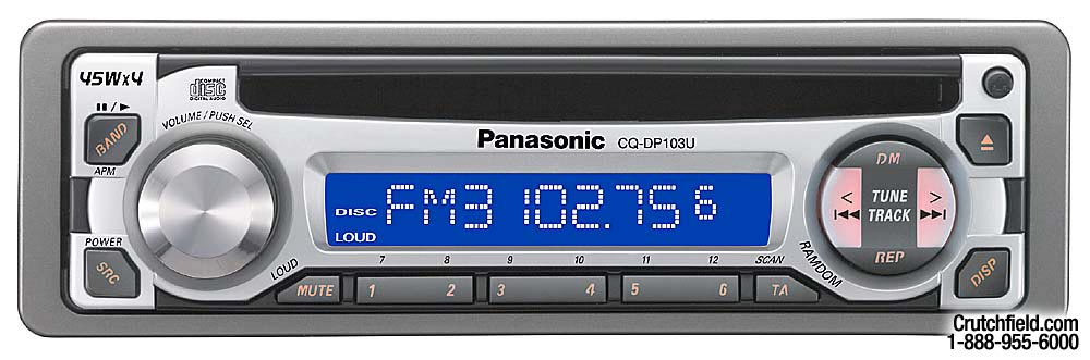 x133DP103 f panasonic cq dp103u cd receiver at crutchfield com panasonic cq-dp103u wiring diagram at nearapp.co