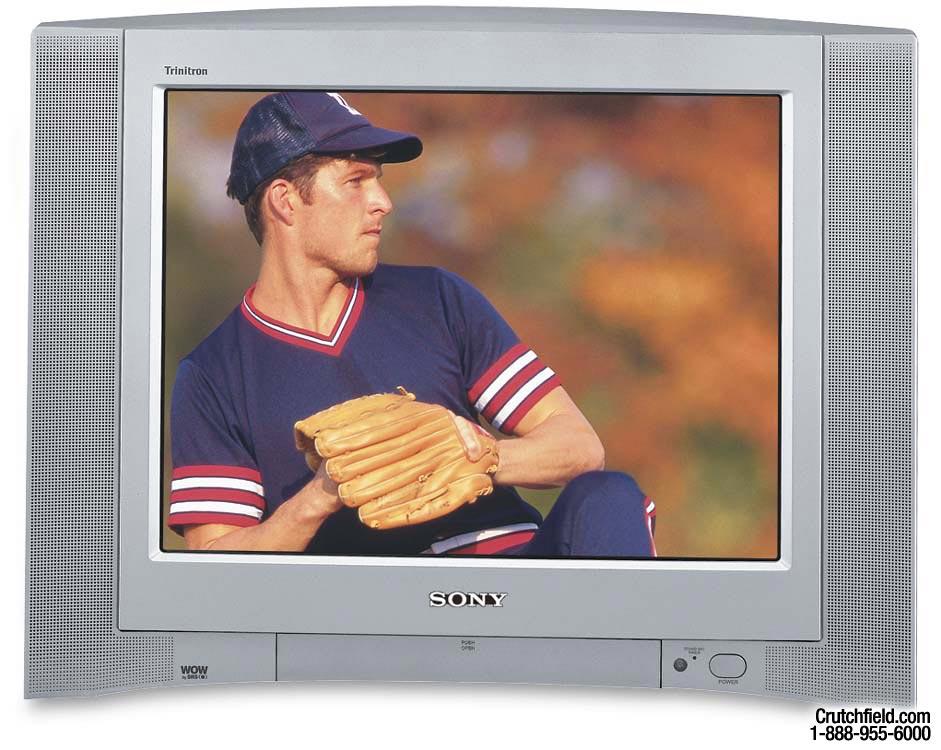 Sony Kv 20fv300 20 Fd Trinitron Wega Tv At Crutchfield
