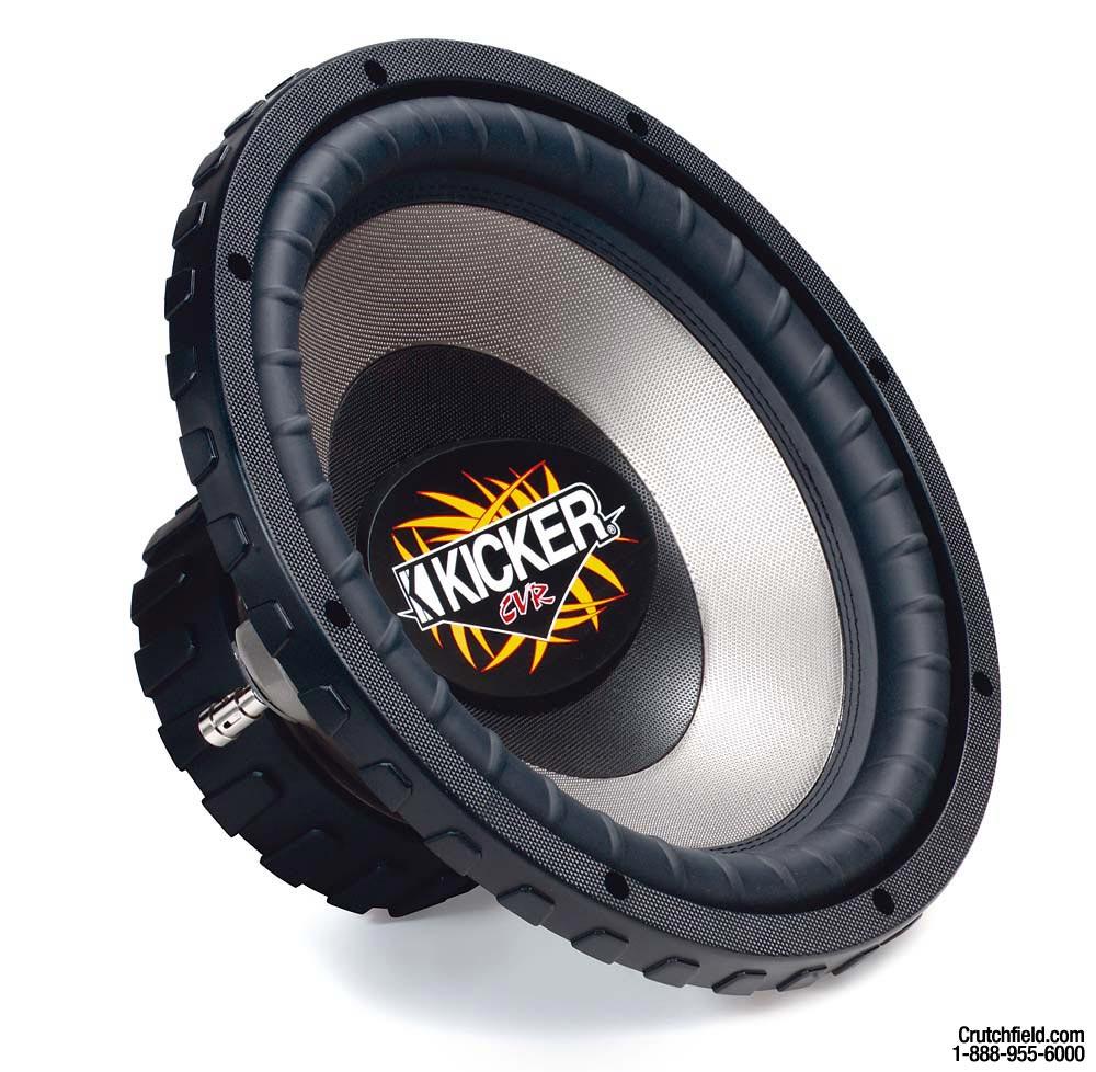 Kicker CompVR CVR10-4 10  Dual 4-ohm Voice Coil Component Subwoofer at Crutchfield.com  sc 1 st  Crutchfield : kicker cvr wiring - yogabreezes.com