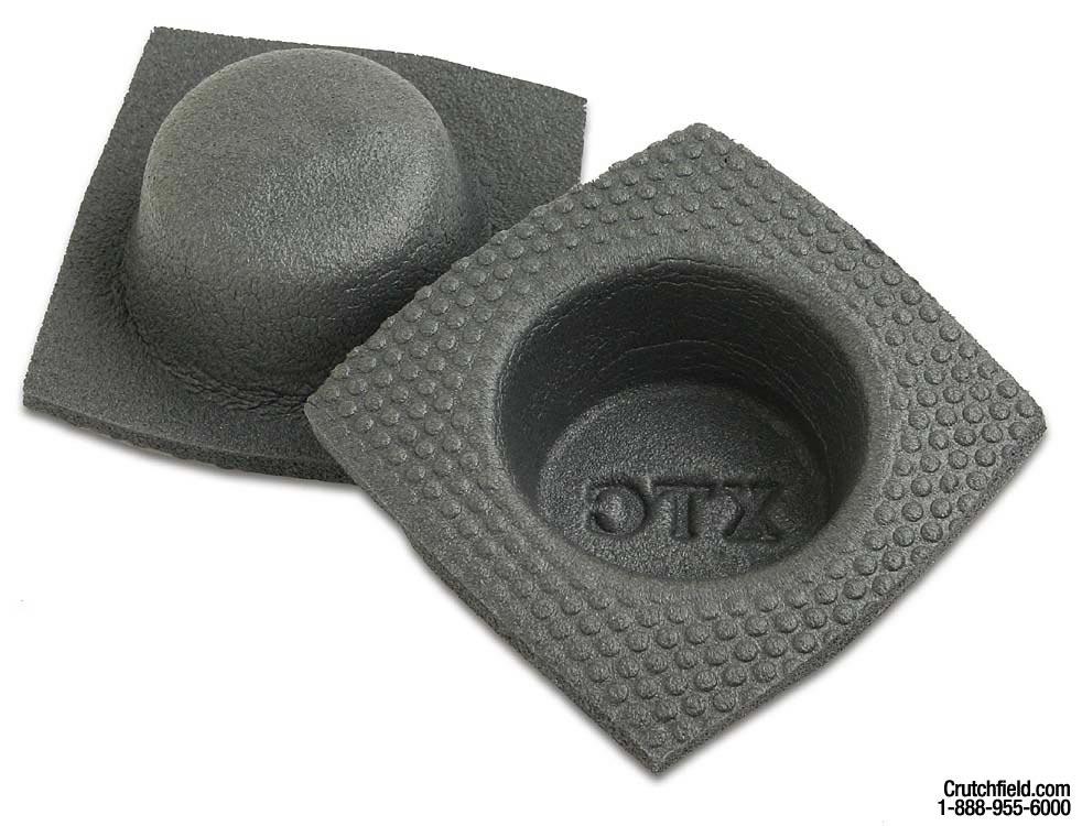 """XTC 4/"""" Round Foam Baffle Pair"""