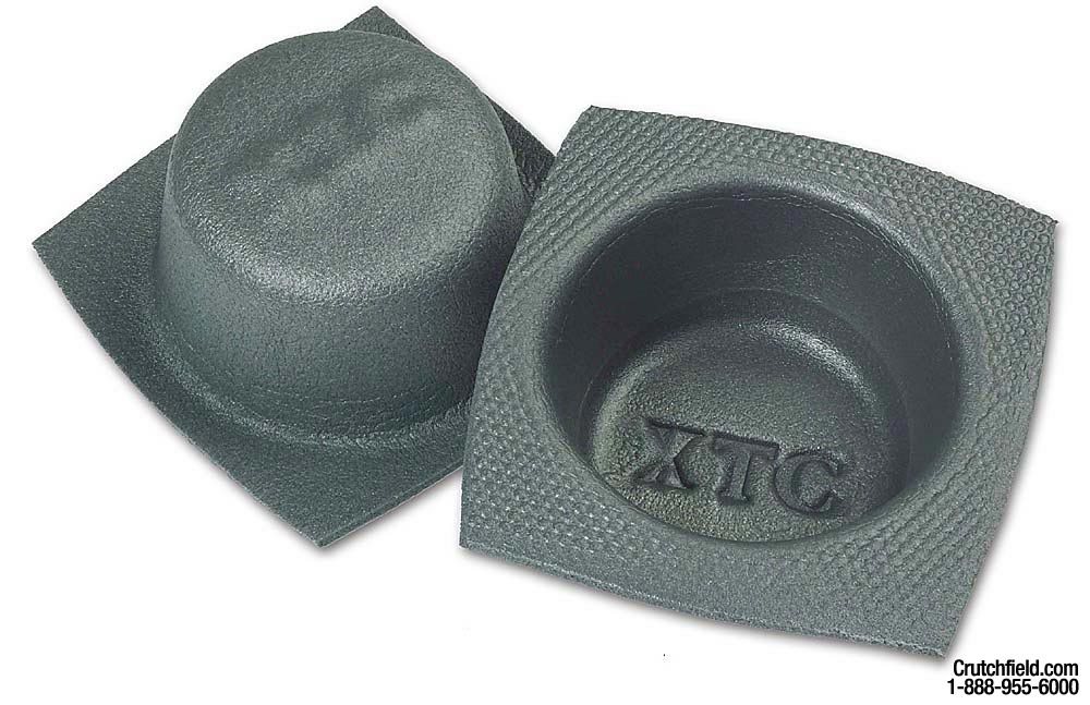 "xtc 6-1/2"" speaker baffles (3-1/4"" depth) protect your speakers at"