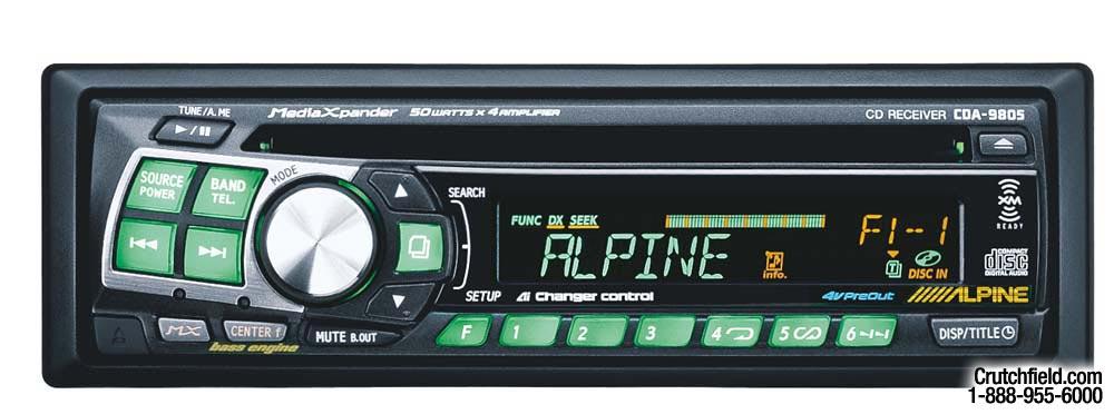Alpine Cda