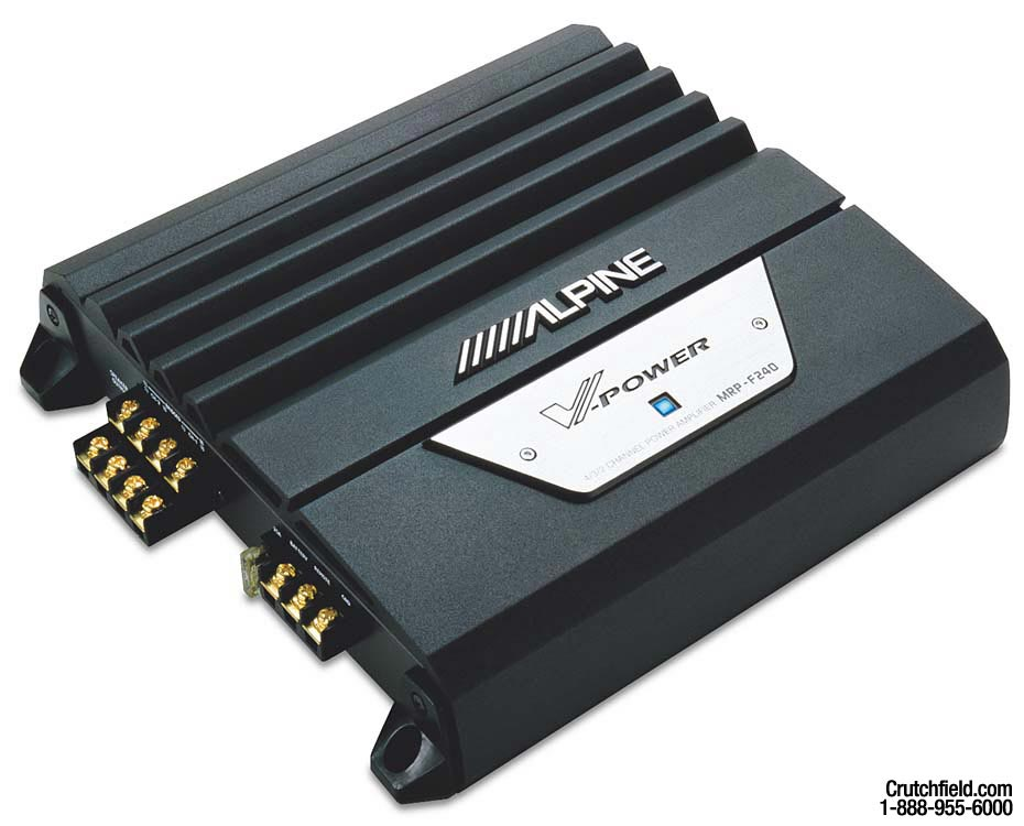 x500MRPF240_mt alpine mrp f240 4 channel car amplifier 40 watts rms x 4 at alpine mrp-f250 wiring diagram at fashall.co