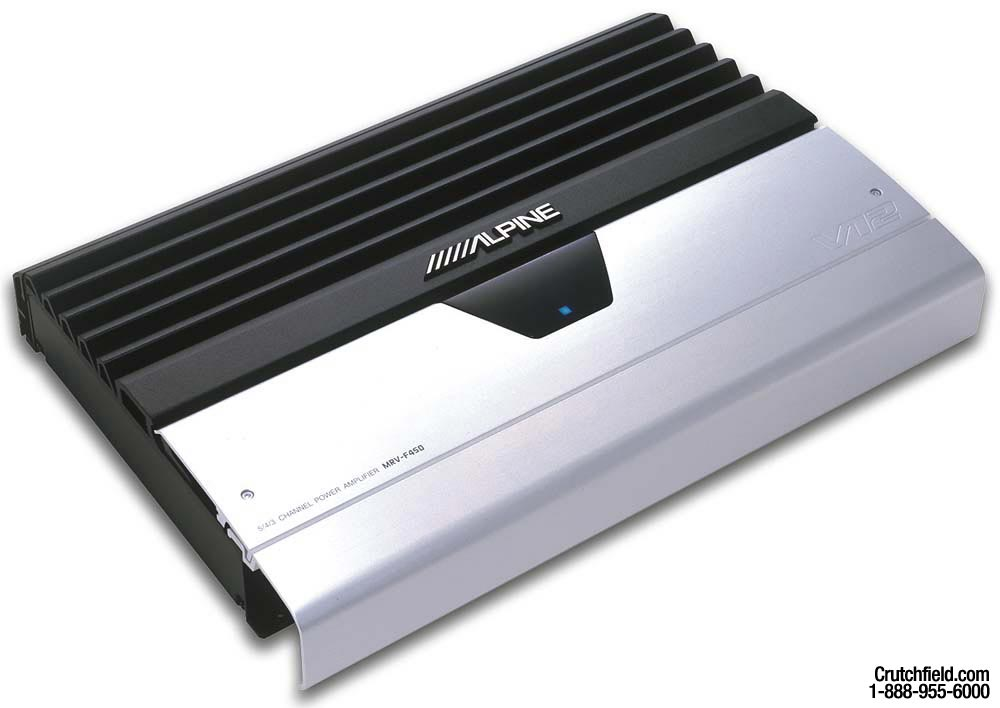 x500MRVF450 alpine mrv f450 5 channel car amplifier 50 watts rms x 4 200 alpine v12 amp wiring diagram at gsmx.co