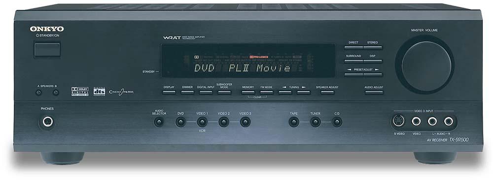 onkyo tx sr500 a v receiver with dolby digital dts and dolby pro rh crutchfield com onkyo ht-r500 manual onkyo ht-r500 specs