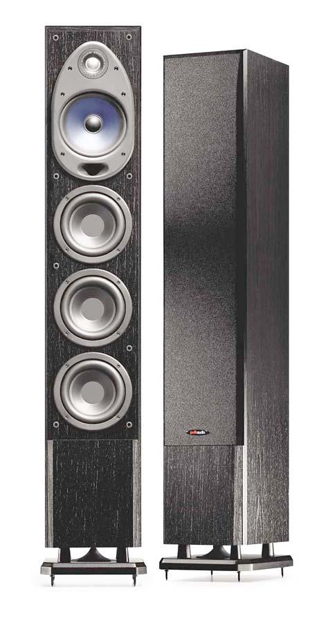 Polk Audio Rti150  Black  Tower Speakers At Crutchfield Com