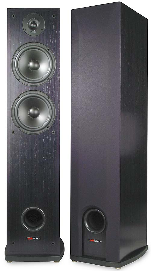 Polk Audio R50 Tower speakers at Crutchfield com