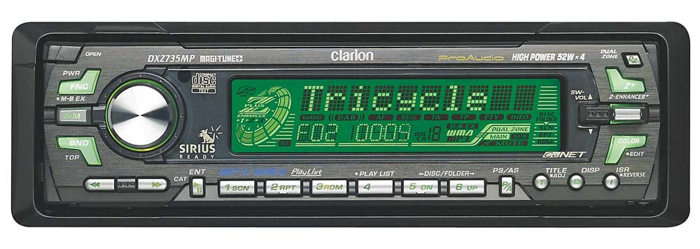 clarion db286usb how to change eq