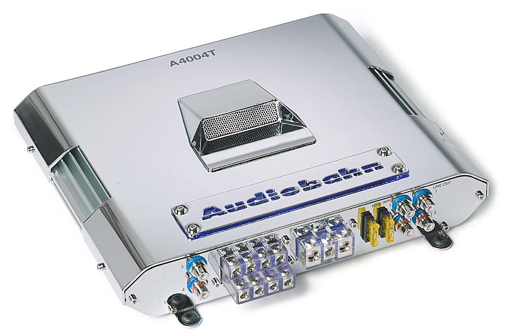 audiobahn a4004t 4 channel car amplifier 50 watts rms x 4 at rh crutchfield com Audiobahn Subwoofers 12 in Audiobahn Dual Coil Speaker Wiring