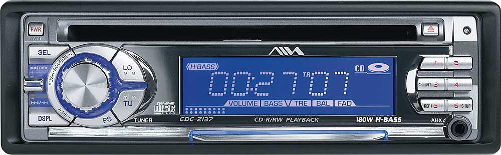 Aiwa CDC-Z137 CD Receiver at Crutchfield.com
