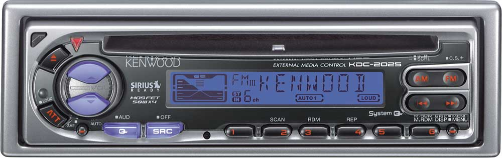 kenwood kdc 2025 cd receiver with cd changer controls at  kenwood kdc wiring harness wiring diagram