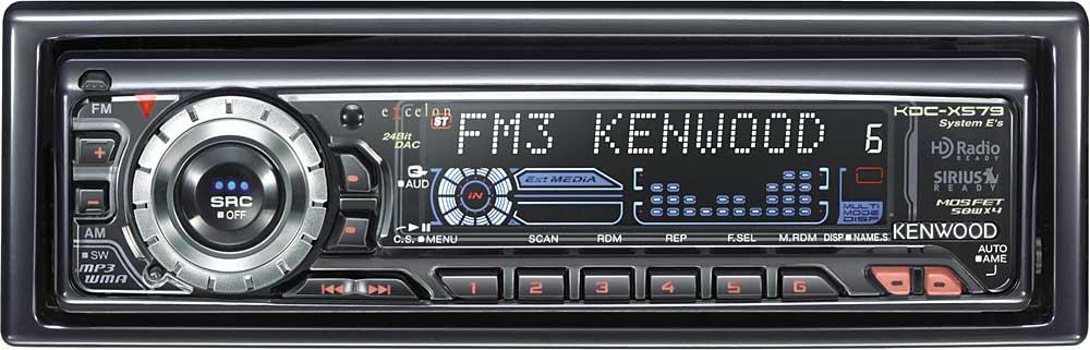 [SCHEMATICS_44OR]  Kenwood Excelon KDC-X579 CD/MP3/WMA receiver at Crutchfield   Kenwood Kdc X579 Wiring Harness      Crutchfield