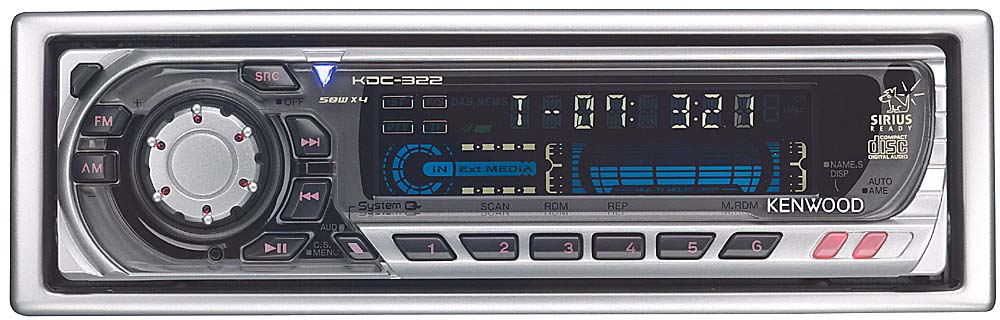 kenwood kdc 322 cd receiver with cd changer controls at crutchfield com rh crutchfield com Kenwood Car Stereo Manual Kenwood Car Stereo Manual