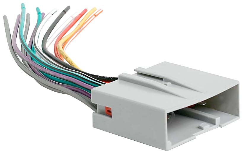 Metra 705520 Receiver Wiring Harness Connect a new car stereo in – Jenn Car Stereo Wiring Harness
