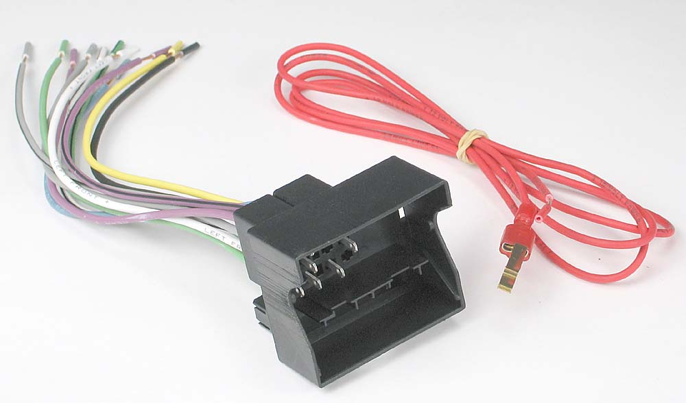 x120709003 f metra 70 9003 receiver wiring harness connect a new car stereo in  at bayanpartner.co
