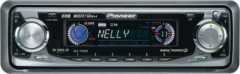 x130DEHP360 pioneer deh p3600 cd receiver with cd changer controls at pioneer deh-p3600 stereo wiring diagram at alyssarenee.co