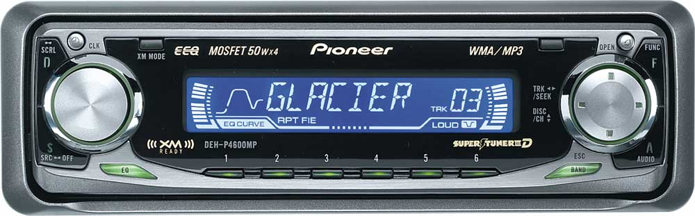 pioneer deh p4600mp cd mp3 wma receiver with cd changer controls at  pioneer deh p4600mp wiring diagram #15