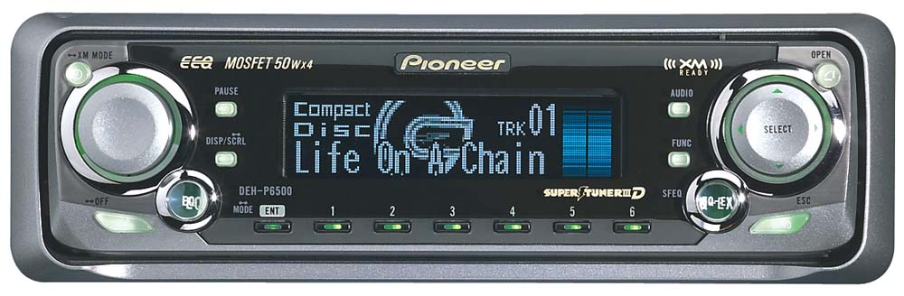 Pioneer DEH-P6500 CD Receiver with CD Changer Controls at ...
