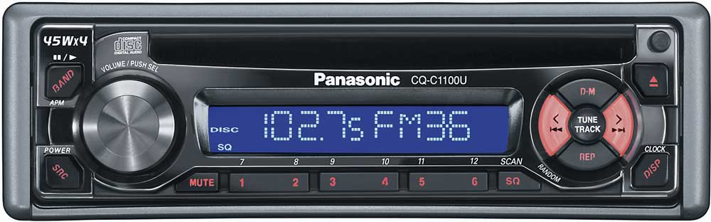 x133C1100 panasonic cq c1100u cd receiver at crutchfield com panasonic cq c1100u wiring diagram at edmiracle.co