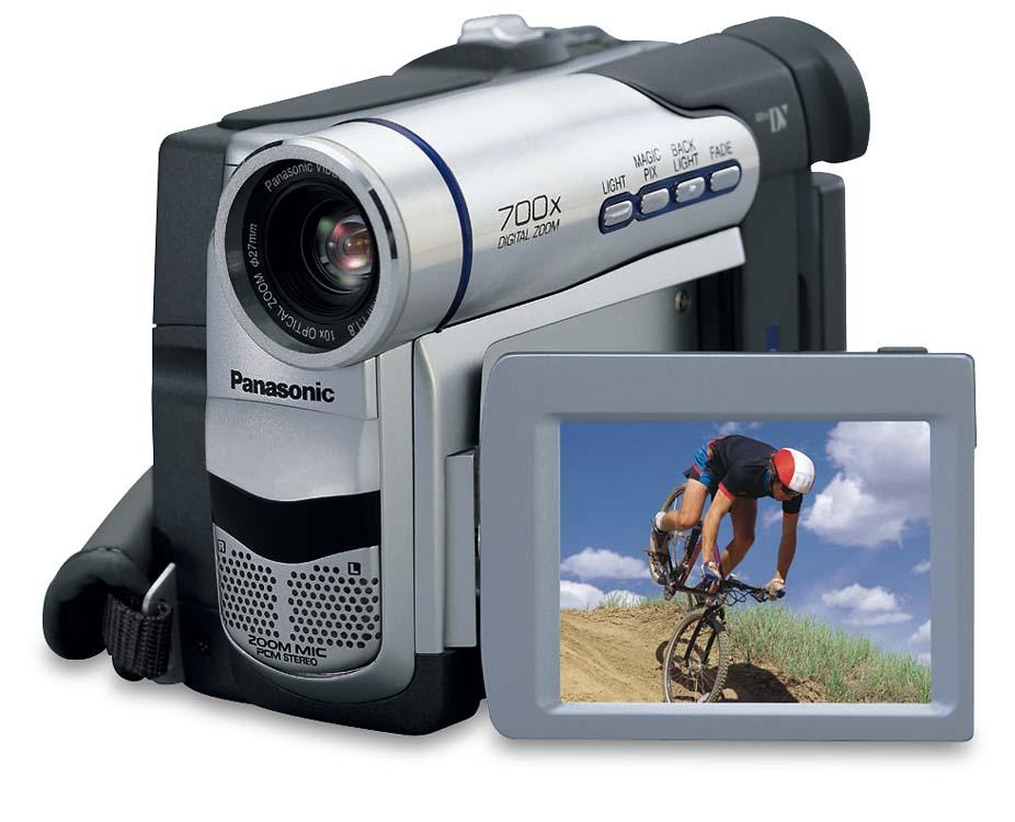 panasonic pv dv203 mini dv digital camcorder at crutchfield com rh crutchfield com Older Panasonic Palmcorder Model Panasonic Mini DV Player