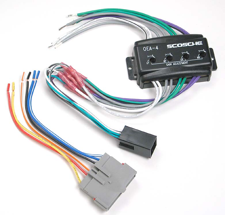 x142C4FDK5 f scosche c4fdk5 wiring interface allows you to connect a new car 1996 ford mustang mach 460 wiring diagram at gsmx.co