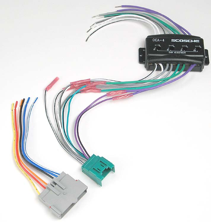 x142C4FDK6 f scosche cfdk6 wiring interface allows you to connect a new car scosche fai 4 wiring diagram at highcare.asia