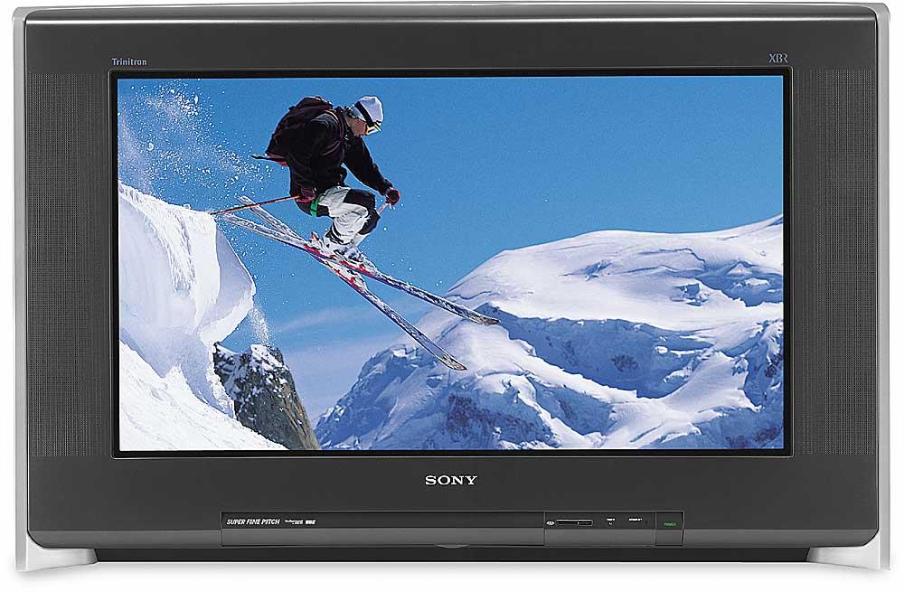 "Car Stereo Shop >> Sony KV-30XBR910 30"" FD Trinitron Wega™ XBR® HDTV-ready TV at Crutchfield"