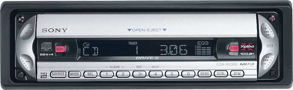 x158R3300 sony cdx r3300 cd mp3 receiver at crutchfield com sony cdx-r3300 wiring diagram at mifinder.co