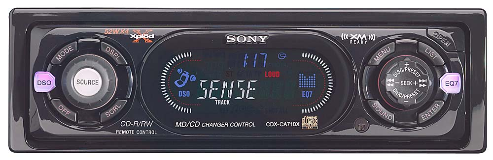 x158ca710x f sony cdx ca710x cd receiver with cd changer controls at sony cdx ca700x wiring diagram at gsmx.co