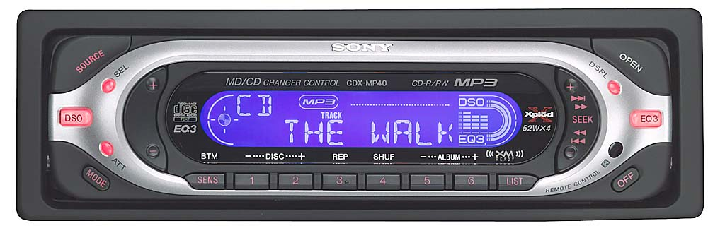 x158cdxmp40 f sony cdx mp40 cd mp3 receiver with cd changer controls at sony cdx mp40 wiring diagram at creativeand.co