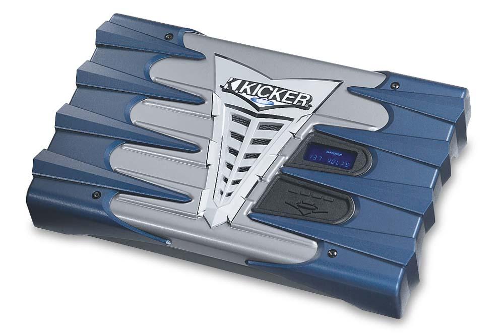 Kicker SX650.1 Mono subwoofer amplifier — 650W x 1 at 2 ohms at ...