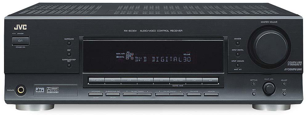 jvc rx 6030v rx 6032v black home theater receiver with dolby rh crutchfield com jvc rx-6030v manual JVC Dolby Digital DTS and a V Receiver