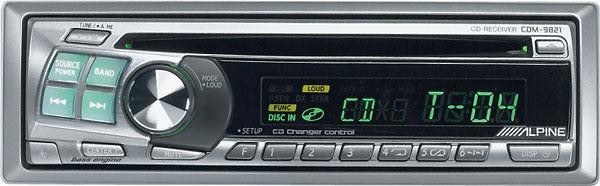 alpine cdm 9821 cd receiver with cd changer controls at crutchfield com rh crutchfield com