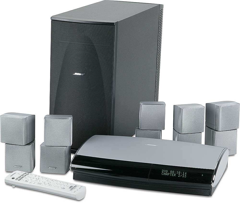 bose lifestyle 38 system system with silver satellites dvd home rh crutchfield com bose lifestyle 38 owner's manual bose lifestyle 38 owner's manual