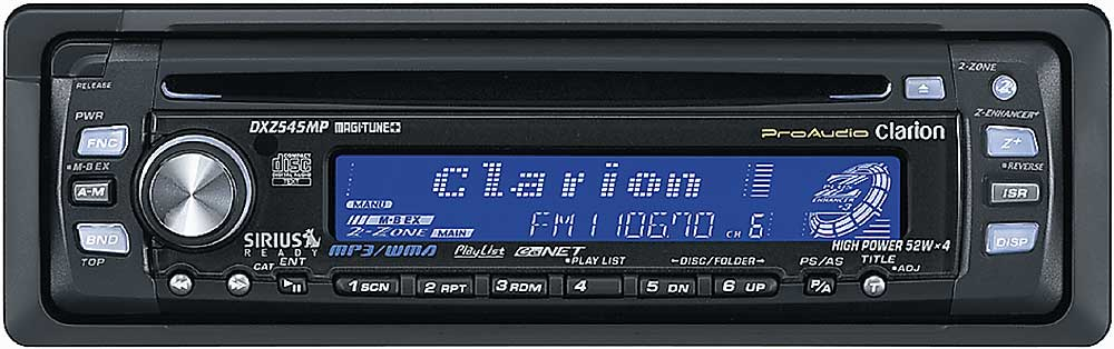 x020DXZ545 clarion proaudio dxz545mp cd mp3 wma receiver at crutchfield com clarion dxz545mp wiring diagram at mifinder.co