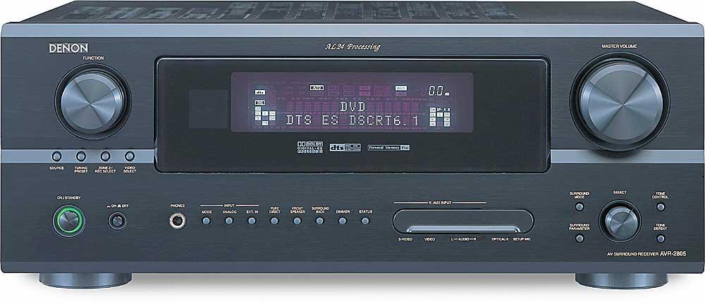 denon avr 2805 black home theater receiver with dolby digital ex rh crutchfield com AVR Denon X4100w denon avr 789 manual