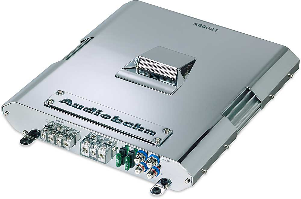 Audiobahn A8002T 2-channel car amplifier 200 watts RMS x 2 at ...