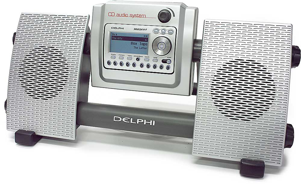 x040SA10034 f_LD delphi cd audio system am fm cd mp3 player for skyfi™ and skyfi2  at n-0.co